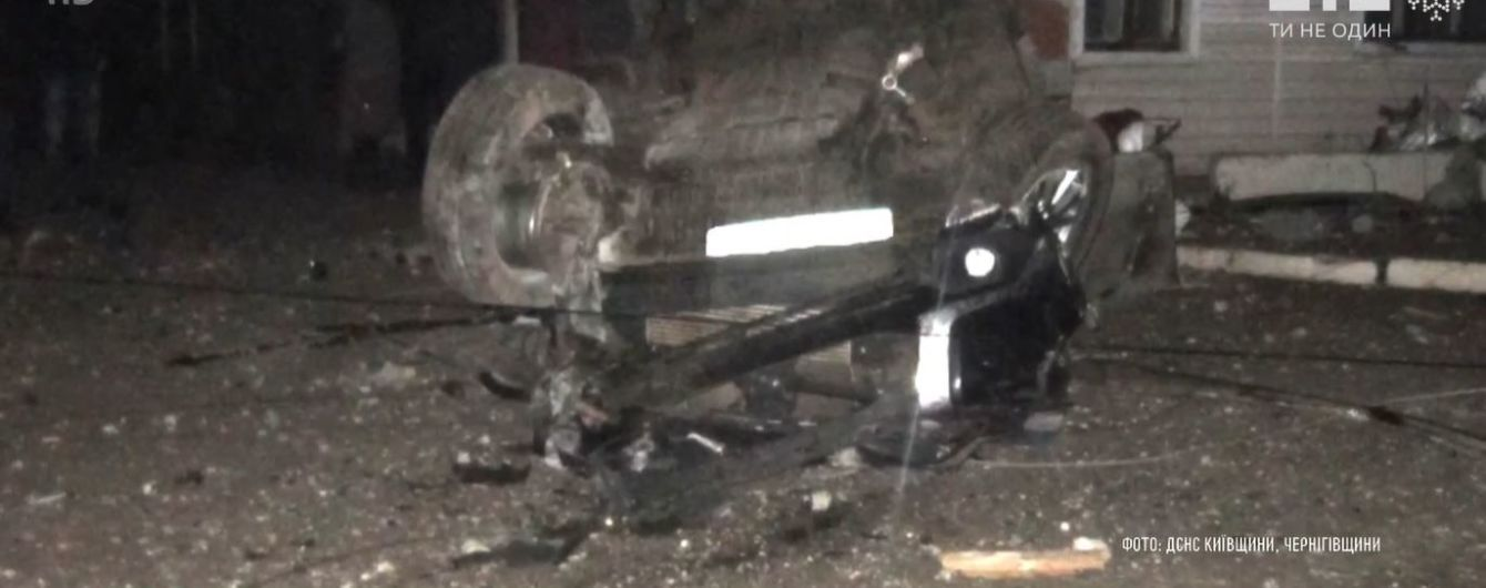 На Черниговщине в аварии погиб сотрудник ГСЧС