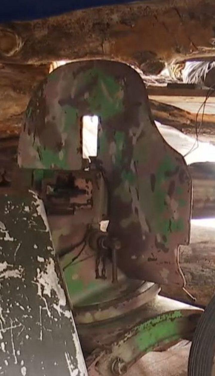 Бойовикам на східному фронті нині протистоять кулемети Другої світової війни