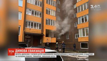 У Рівному в багатоквартирному житловому будинку стався вибух