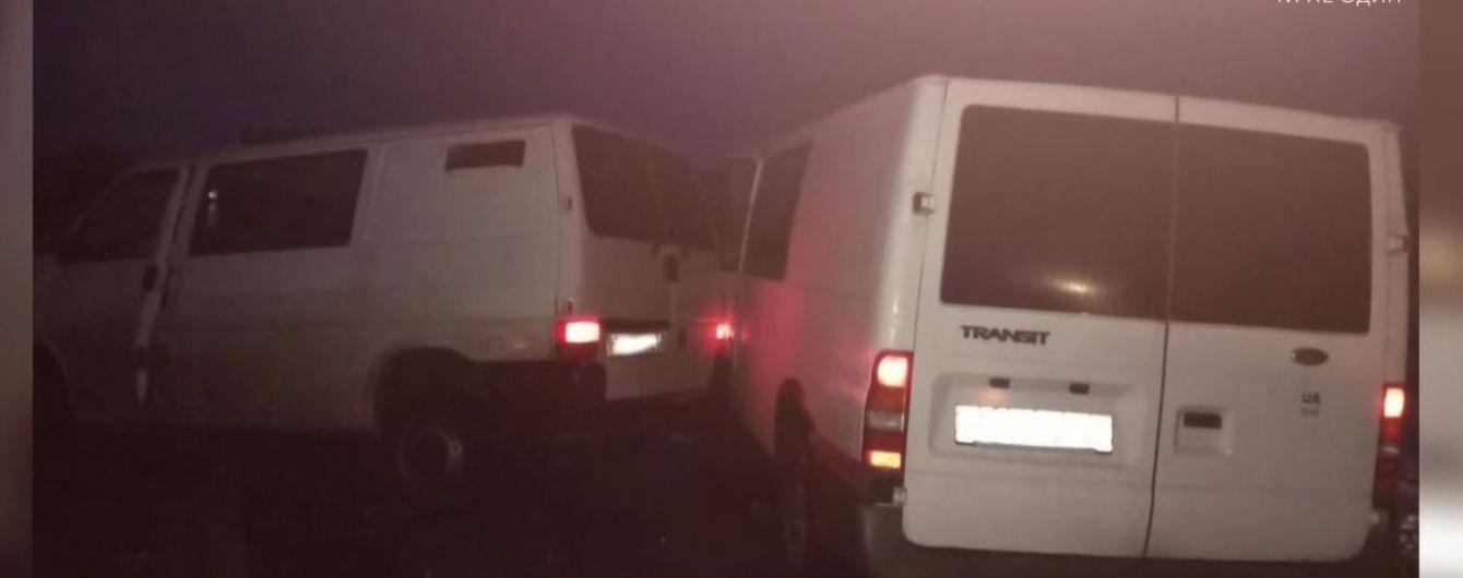 В столкновении двух микроавтобусов на Волыни погибли двое людей