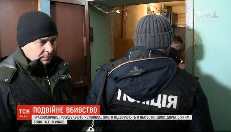 Поліцейські Києва розшукують чоловіка і дівчину, яких підозрюють у вбивстві двох дівчат