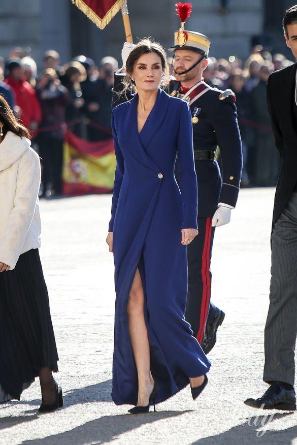 Королева Летиция и король Филипп VI_3