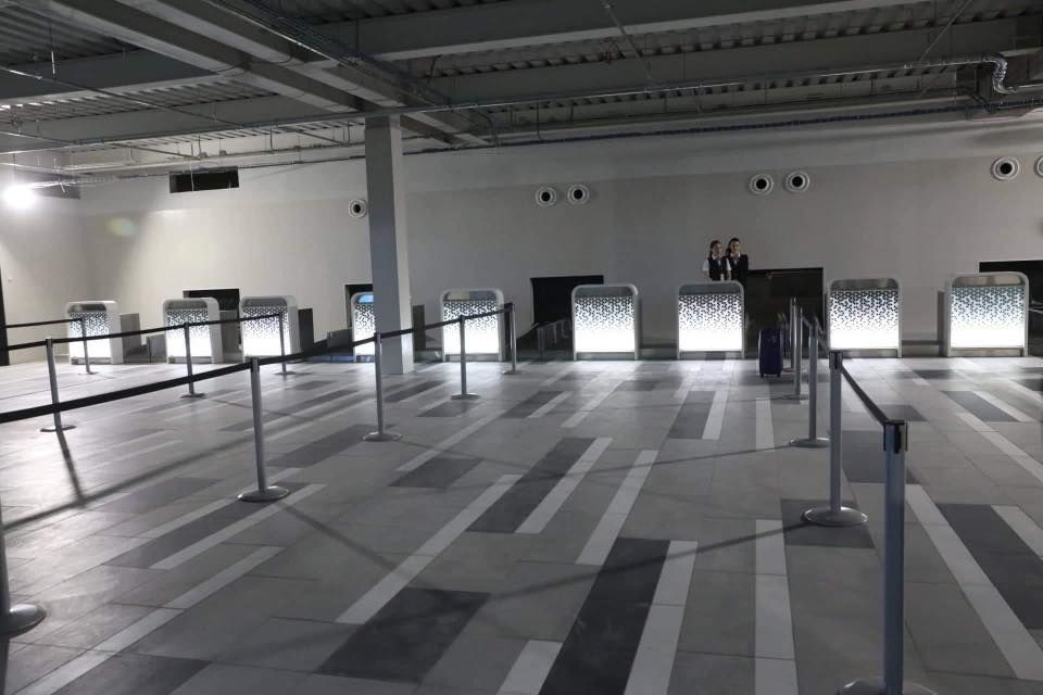 аеропорт Запоріжжя, новий термінал 2020