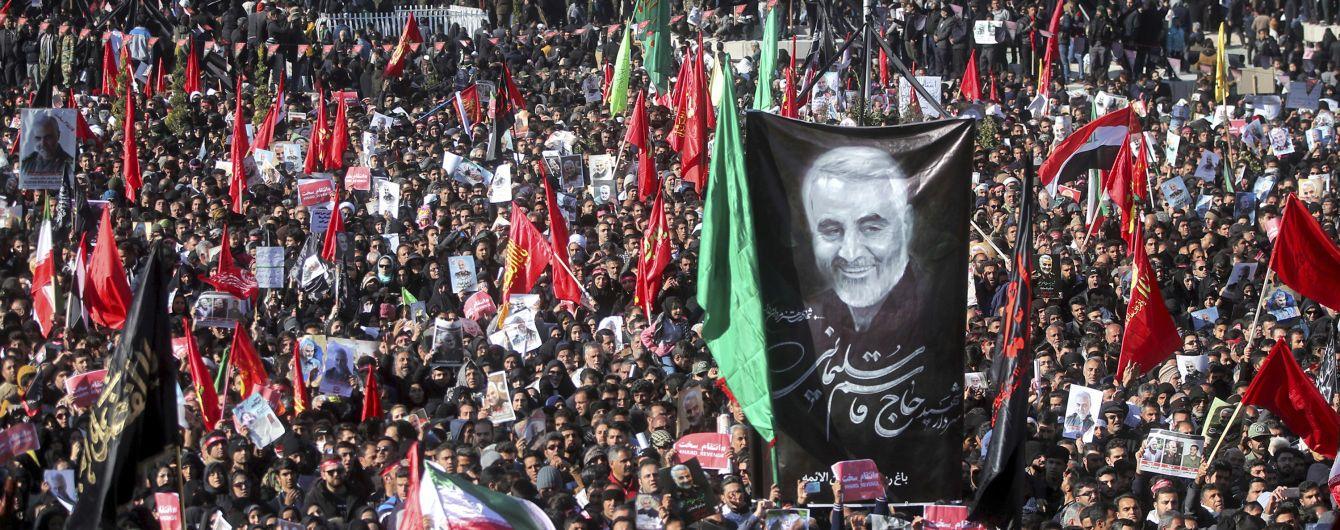 Количество погибших в давке на похоронах Сулеймани выросла - из-за толпы невозможно похоронить генерала