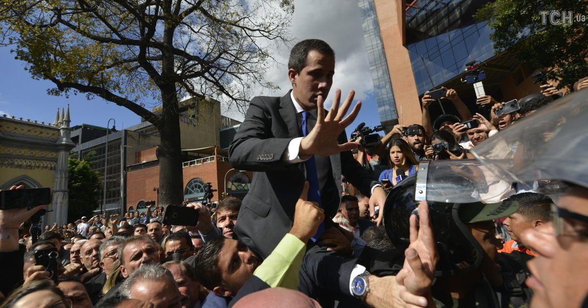 Попри супротив нацгвардії опозиційний лідер Венесуели склав присягу голови парламенту