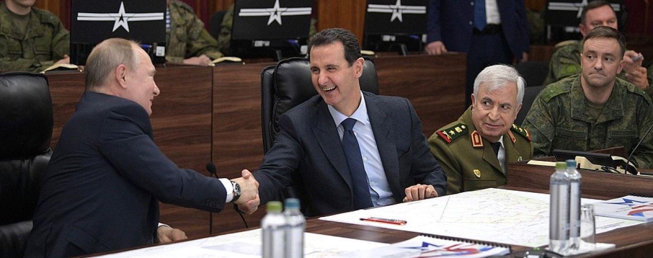 Кремль сообщил о неожиданном визит Путина в Сирию