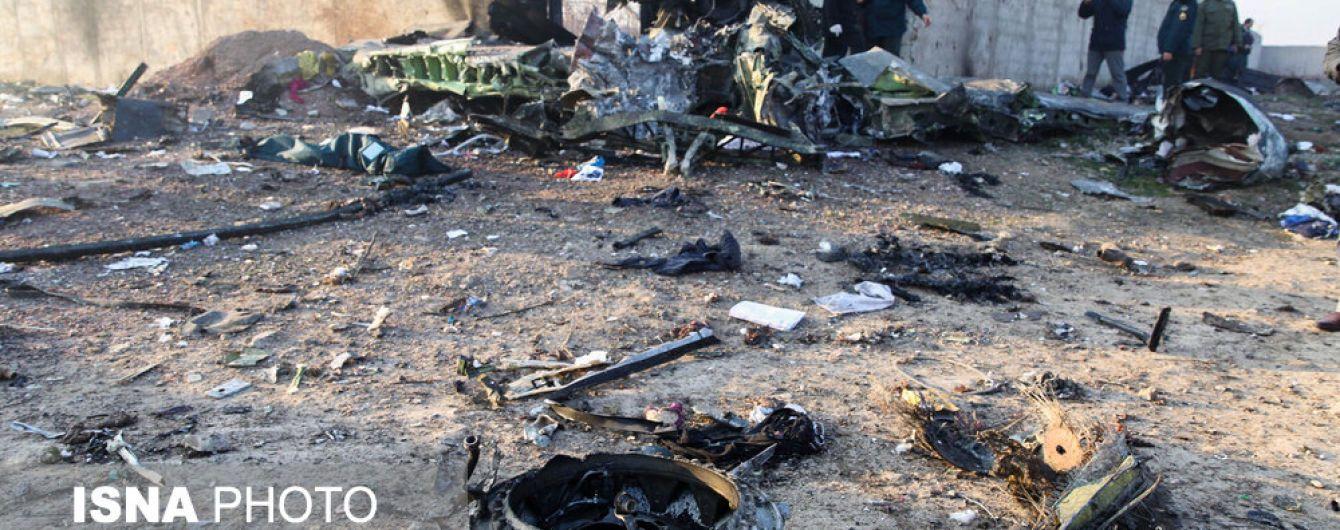 Под Тегераном нашли оба черных ящика пассажирского самолета МАУ