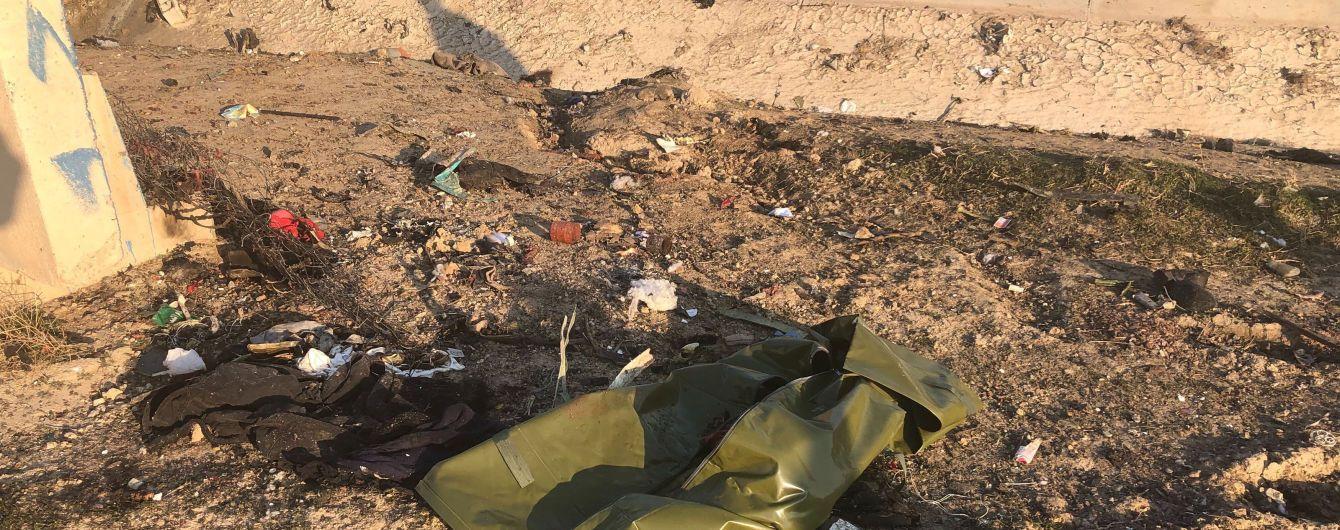 Украина отправит в Иран группу для расследования причин катастрофы самолета МАУ