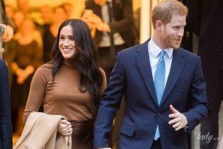 В блузке от Victoria Beckham: герцогиня Меган и ее муж принц Гарри выпустили новое обращение