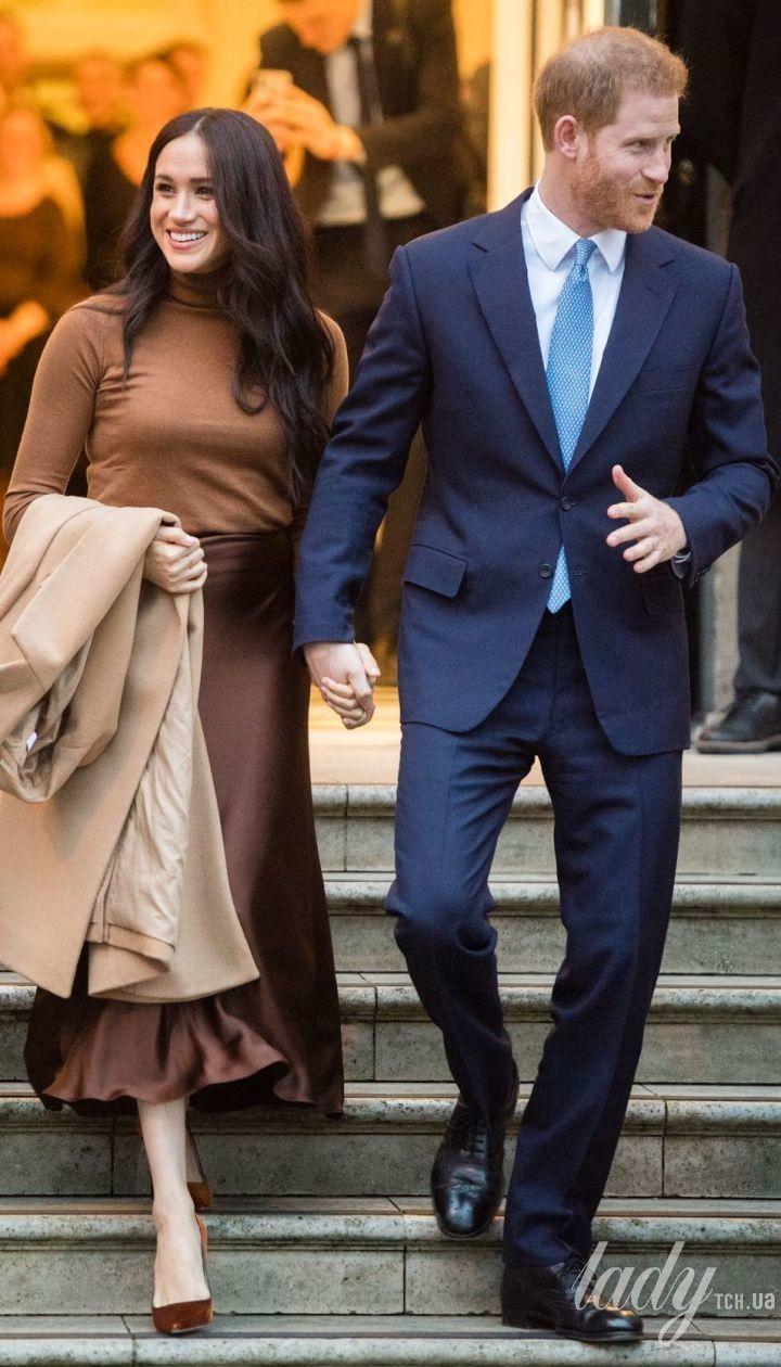 Герцогиня Сассекська і принц Гаррі