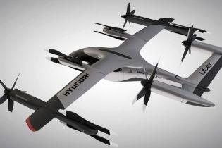 Uber и Hyundai представили электрическое аэротакси