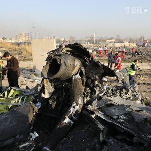 Авіакатастрофа літака МАУ під Тегераном. Хроніка подій