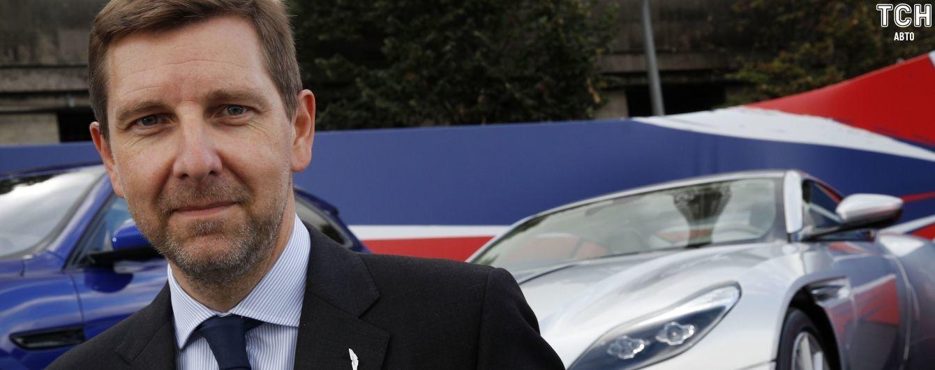 Fiat-Chrysler переманил вице-президента Aston Martin