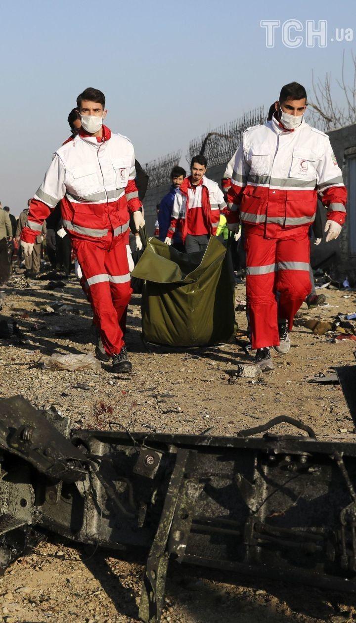 Падение самолета МАУ под Тегераном. Главное