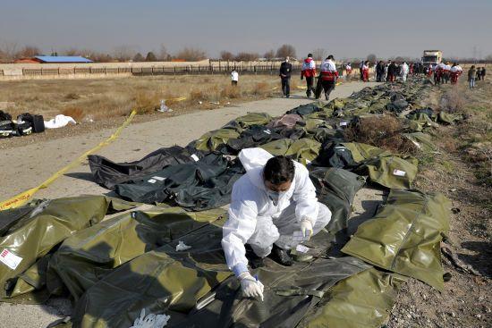 Авіакатастрофа літака МАУ. В Ірані завершилась ідентифікація тіл загиблих українців