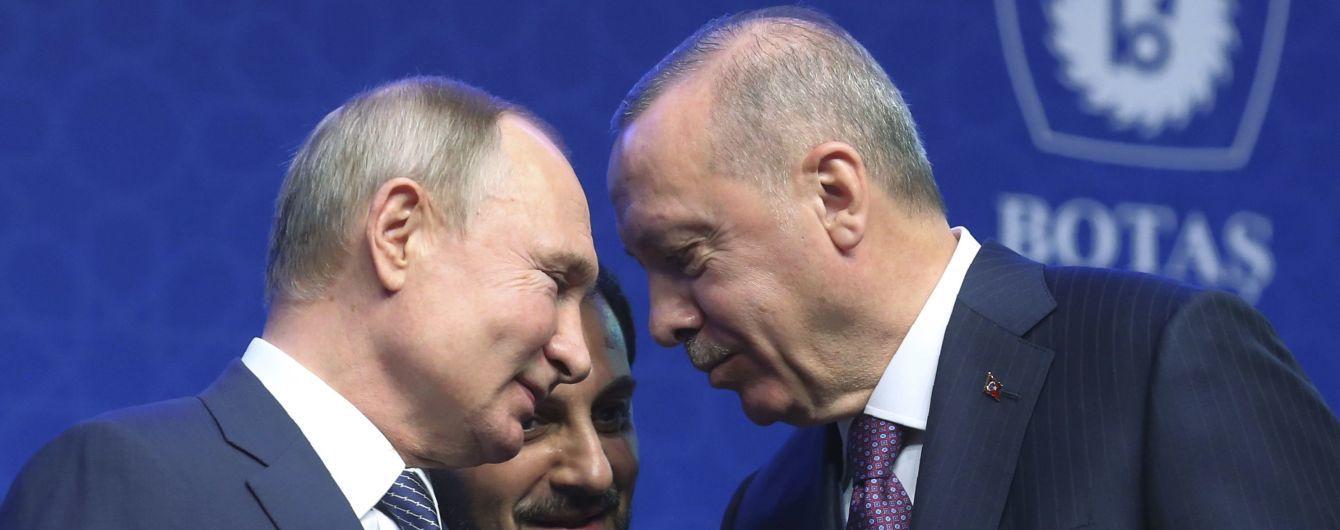 Путін і Ердоган закликали припинити вогонь в Лівії