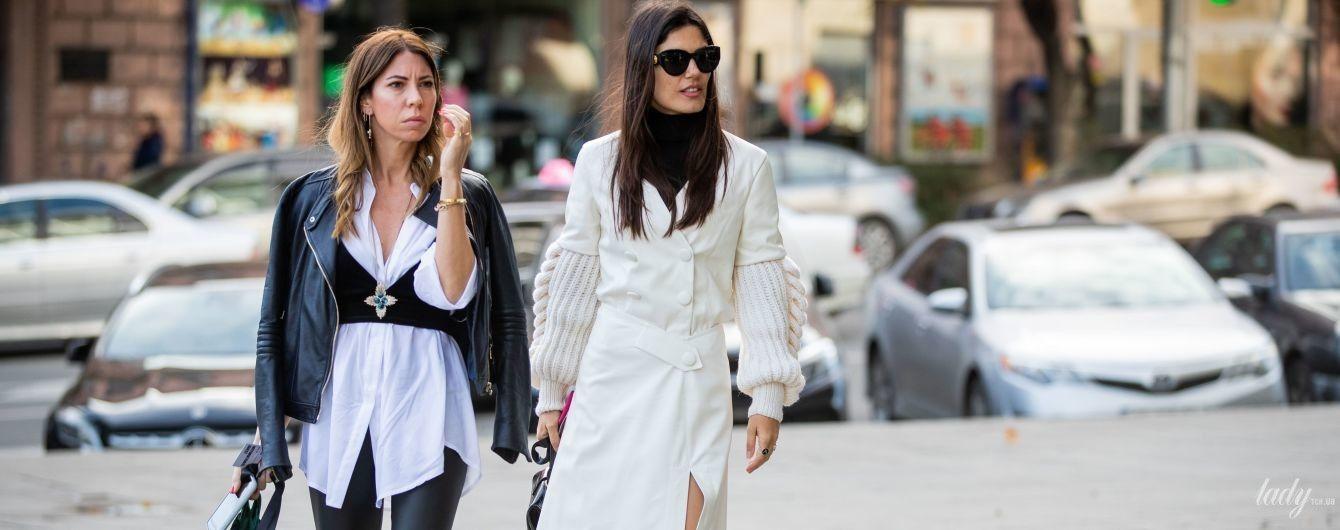 Белая одежда в зимнем гардеробе: как подобрать и с чем носить