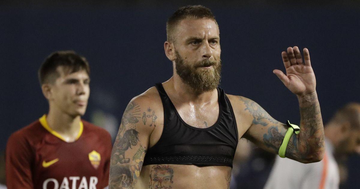 """Футболісти """"Роми"""" щемно попрощалися з легендою клубу"""