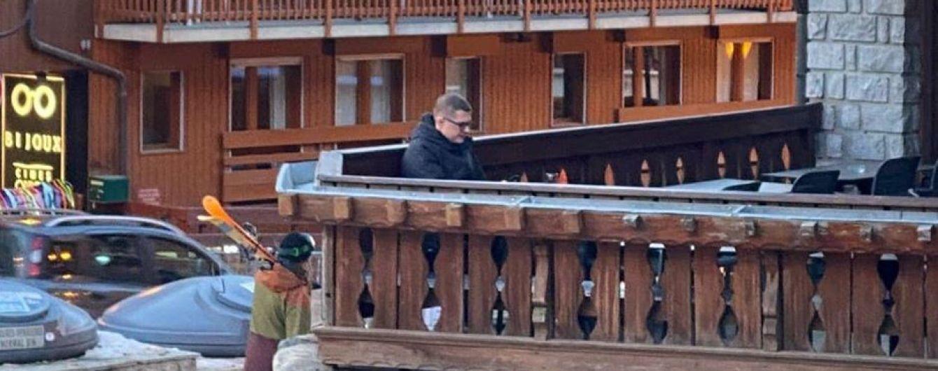 Баканова заметили на известном горнолыжном курорте Куршевель. Журналист обнародовал фото