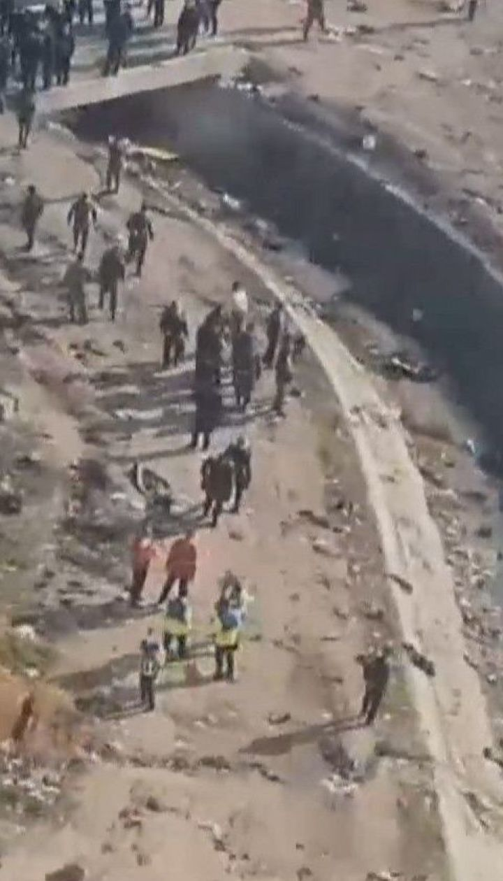 Иранские власти не отдадут черный ящик с самолета МАУ, который упал в Тегеране