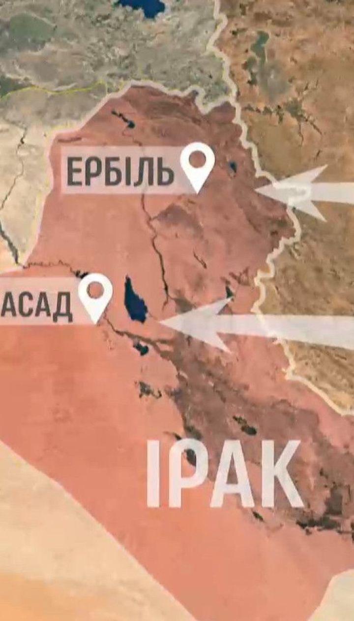 Украинский лайнер упал через несколько часов после авиаударов Ирана