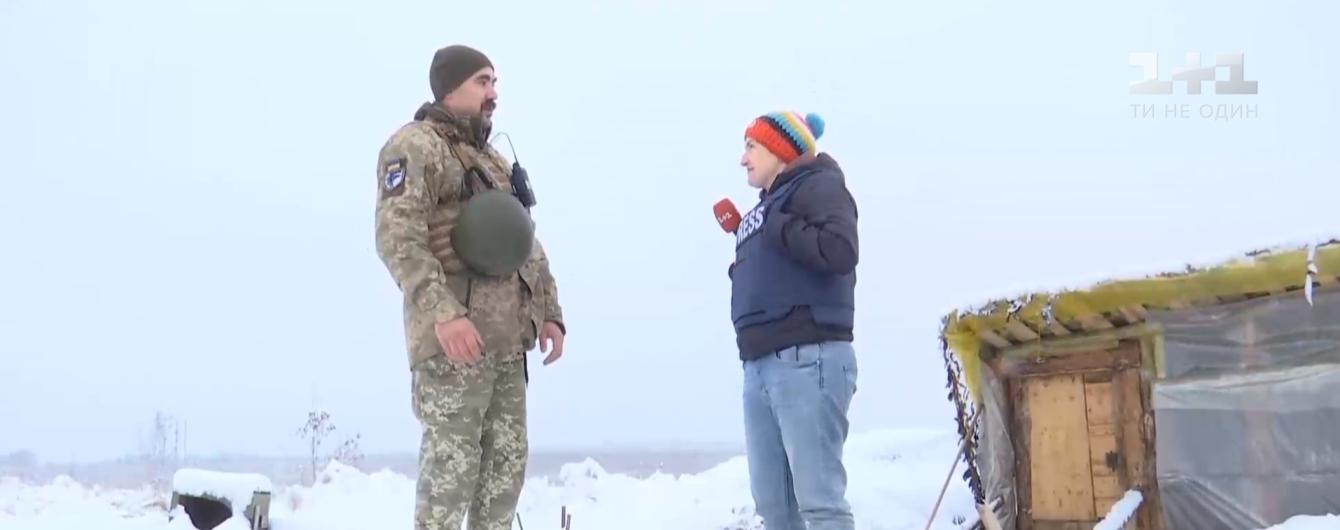 Зима повернулась: українські воїни на Донбасі розповіли, як переживають холоди
