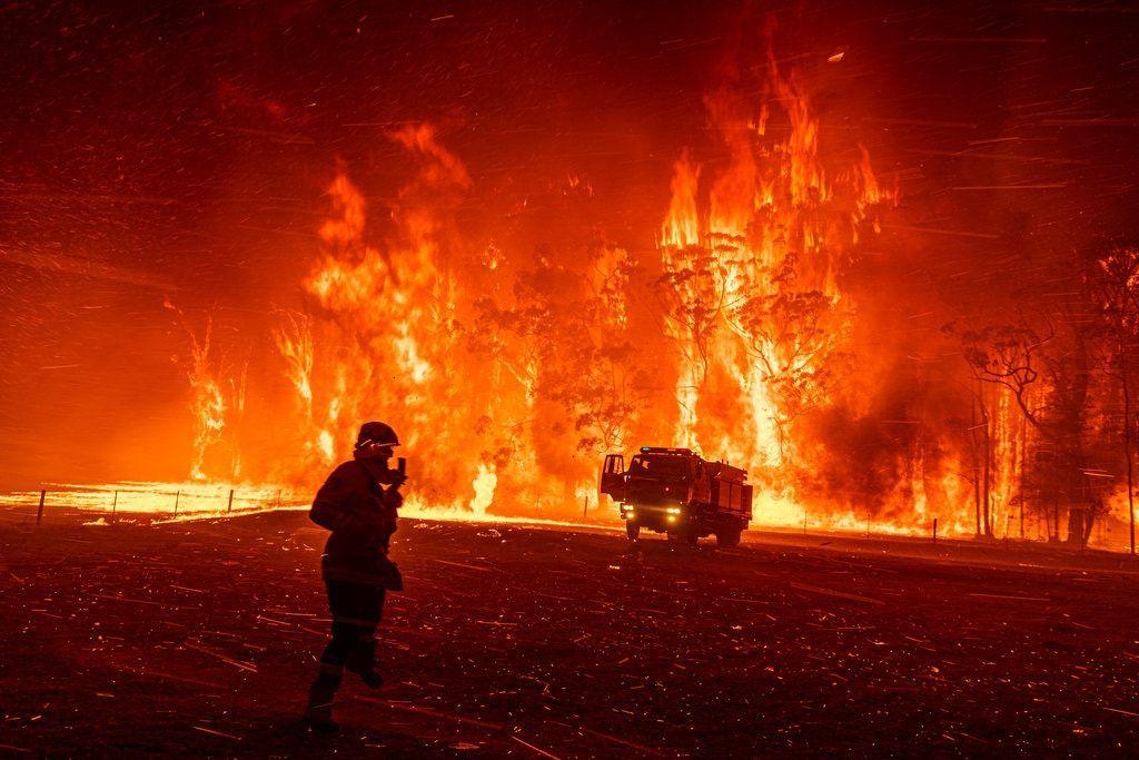 пожежі в астралії