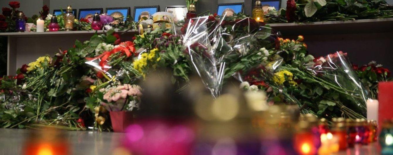 """Возле """"Борисполя"""" автомобилисты в особый способ встретили тела погибших в катастрофе МАУ"""