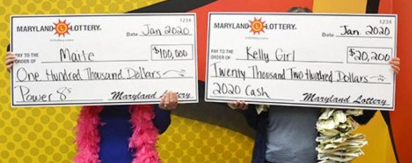 В США подруги сыграли в лотерею и вместе разбогатели