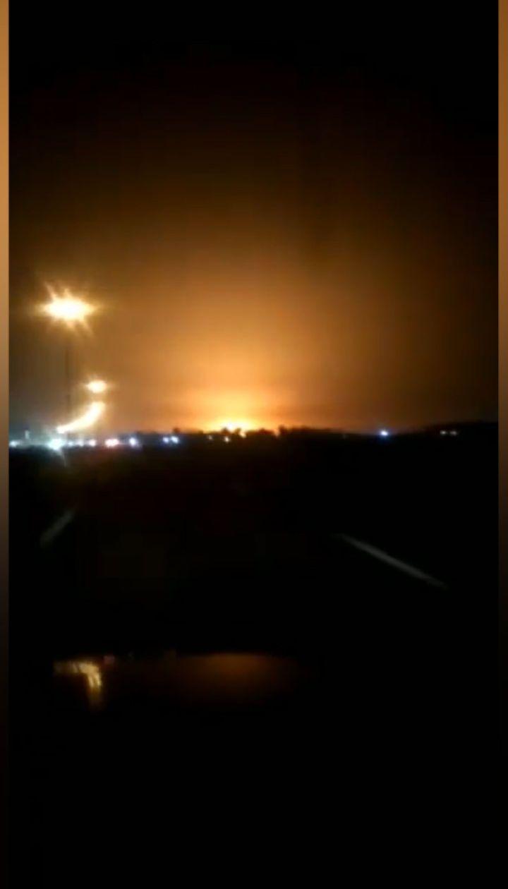 Відео падіння українського літака під Тегераном