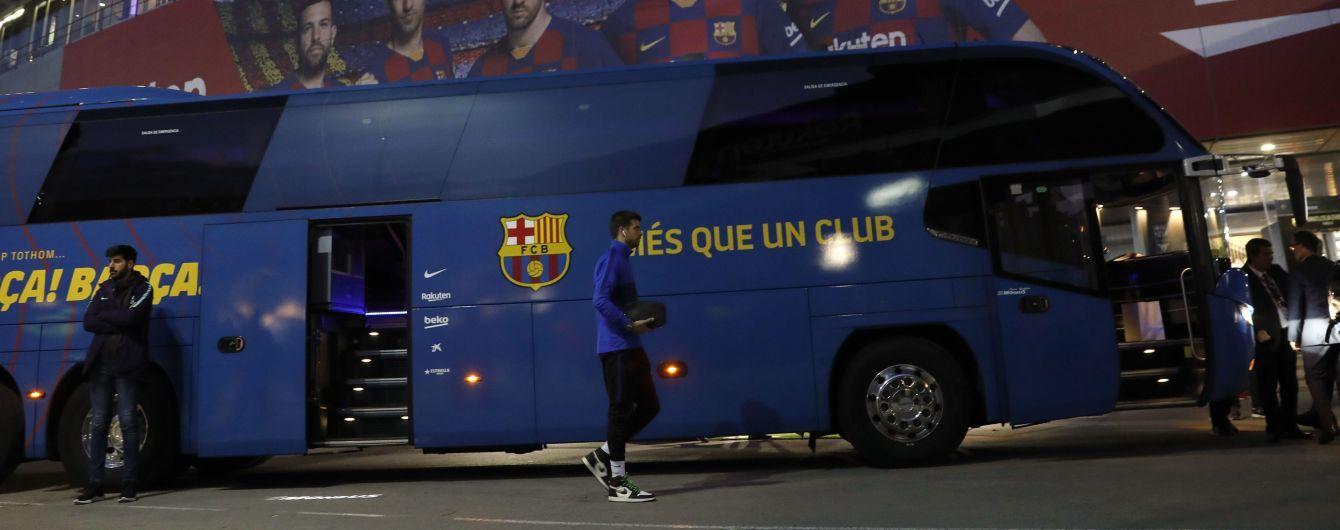 """Автобус із футболістами """"Барселони"""" заблукав у Саудівській Аравії перед матчем Суперкубка Іспанії"""