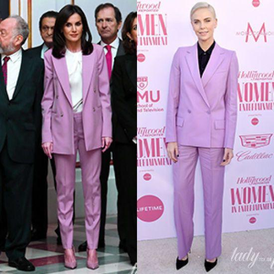 Кому більше пасує рожевий штанний костюм?