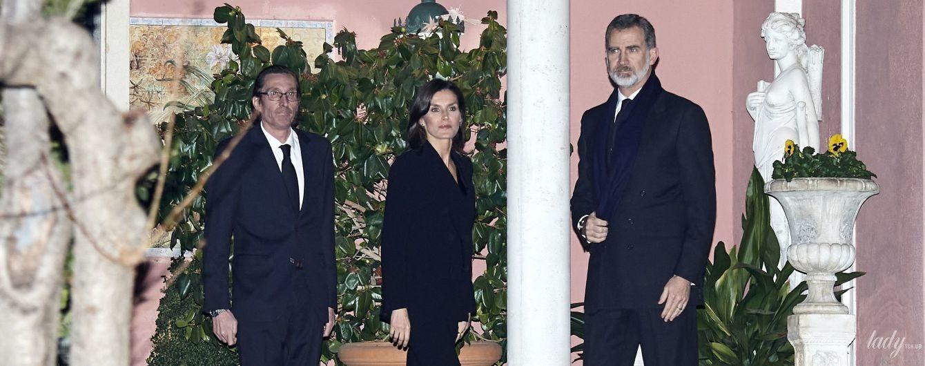 Королева Летиція і король Філіп VI на жалобній церемонії в Мадриді