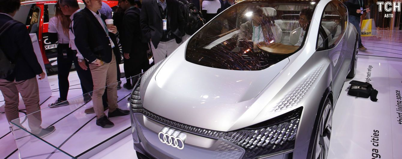 Audi представила электрокар Ai:Me