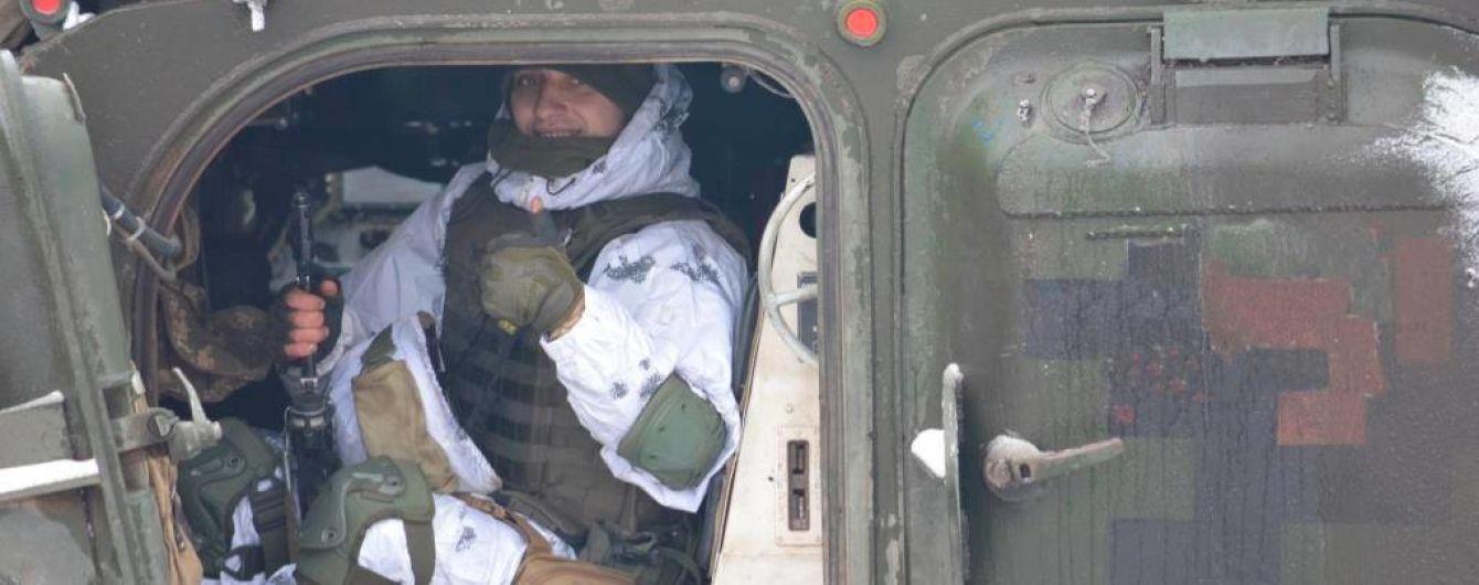Бойовики стріляли із забороненої зброї по позиціях українських захисників - штаб ООС
