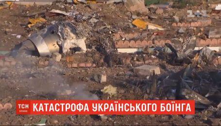 Іранські слідчі оприлюднили перший звіт про катастрофу українського боїнга