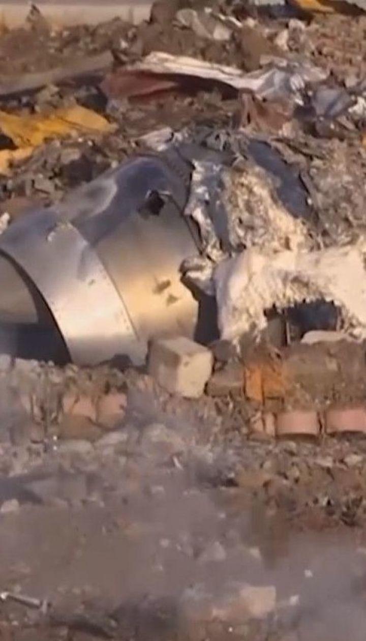 Иранские следователи обнародовали первый отчет о катастрофе украинского боинга