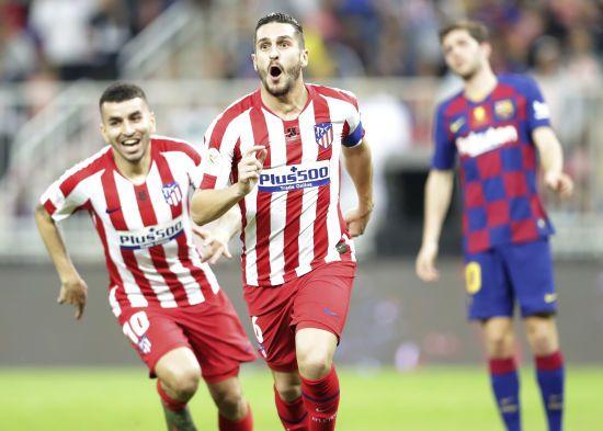 """""""Атлетіко"""" у фантастичному вольовому стилі здолав """"Барселону"""" та вийшов до фіналу Суперкубка Іспанії"""