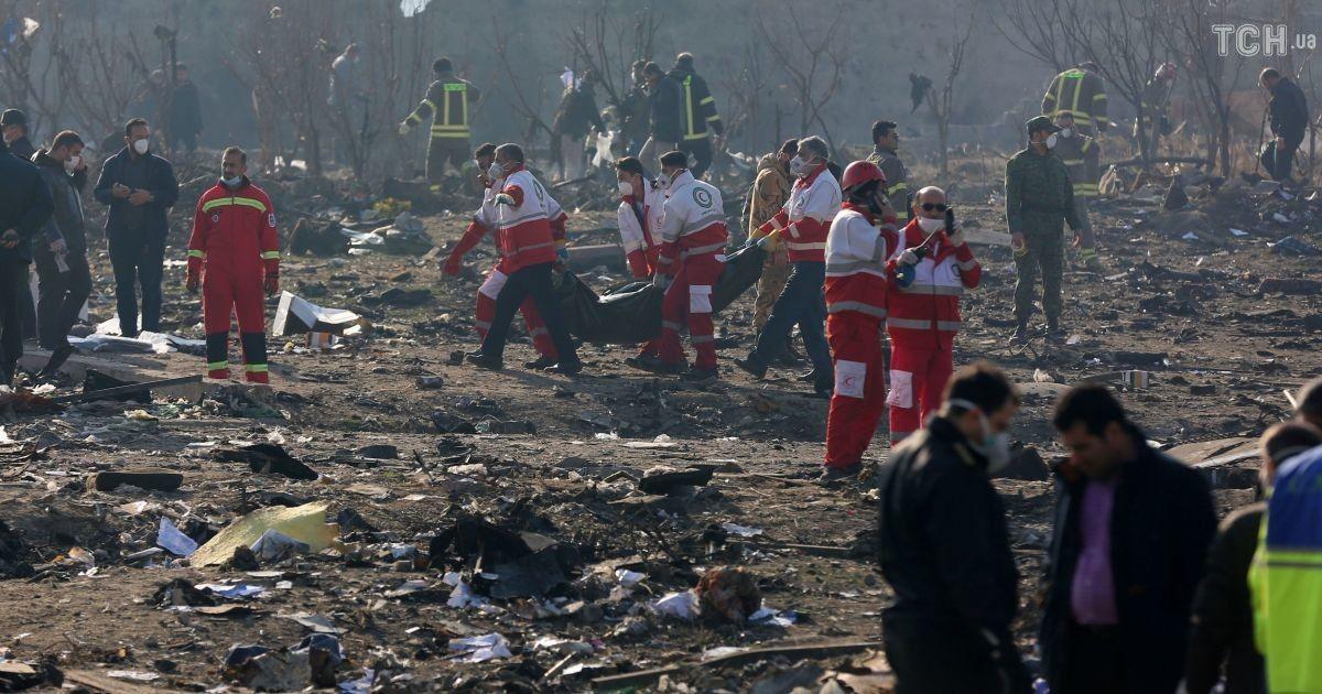 Катастрофа самолета МАУ над Тегераном: Украина передала Ирану замечания к проекту технического отчета