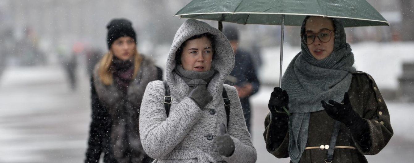 Дождь, мокрый снег и ветер: погода на среду