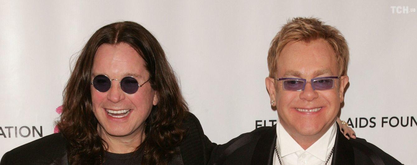 Оззи Осборн и Элтон Джон представили дуэтную лирическую балладу