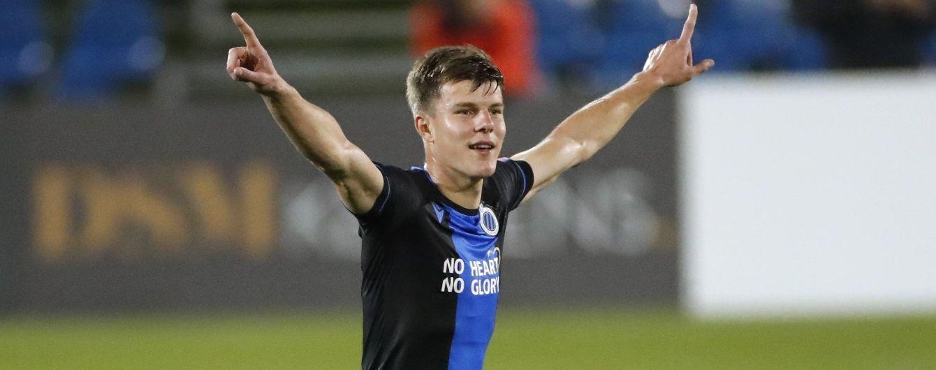 Украинец Соболь забил эффектный мяч в ворота ПСВ