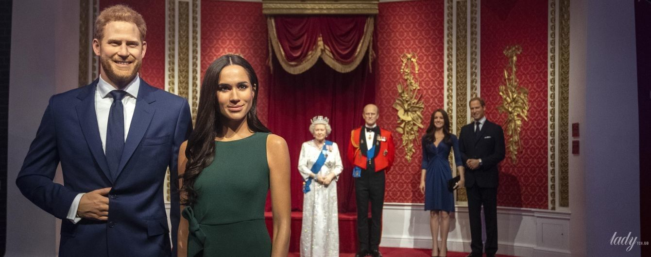 Зміни у Музеї мадам Тюссо: воскові фігури Сассексів більше не стоять поруч з королевою Єлизаветою II
