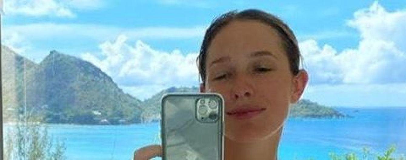 В ванной с видом на океан: Катя Осадчая показала красивое фото с отдыха на Сейшелах