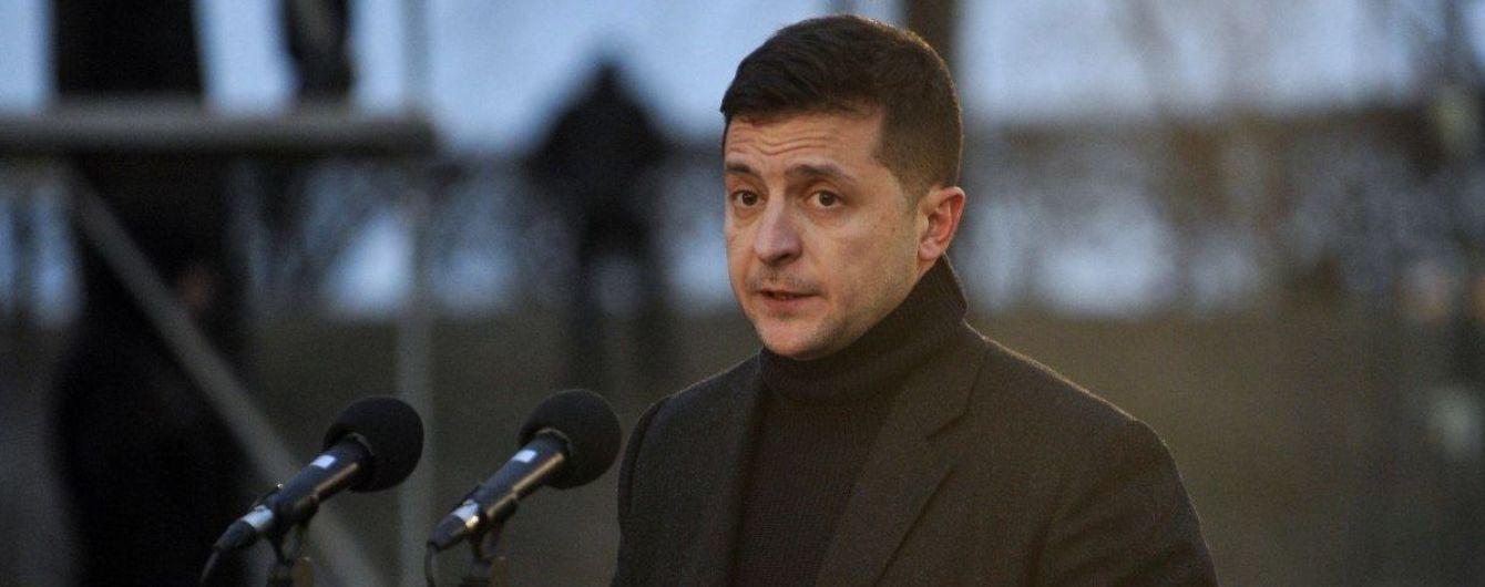 """Зеленский впервые прокомментировал скандал вокруг """"пленок Гончарука"""""""