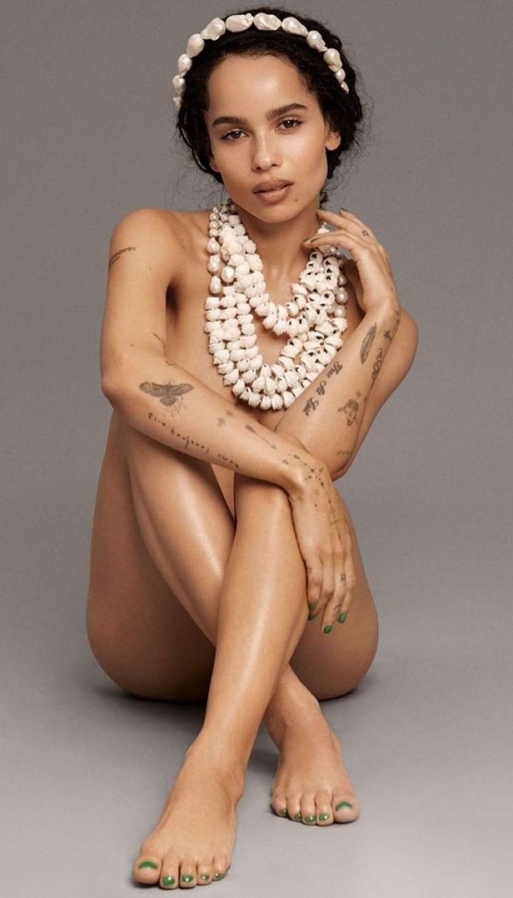Зої Кравіц у фотосесії для Elle US