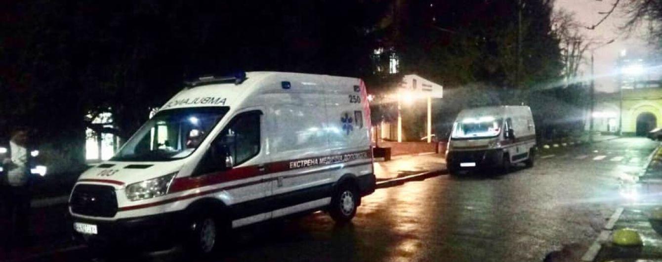 До Києва до госпіталю доправили дев'ятьох поранених бійців