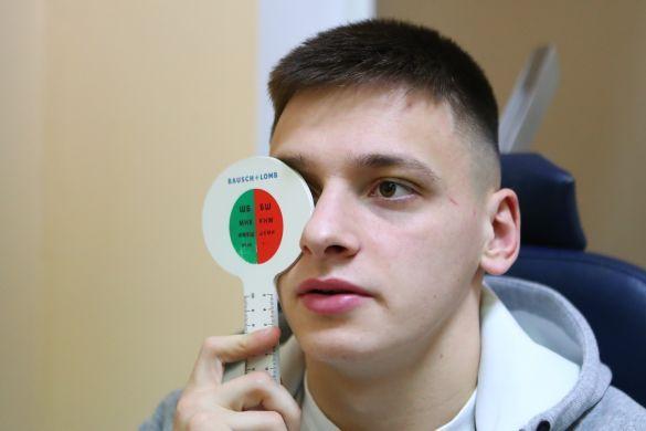 Русин на медогляді