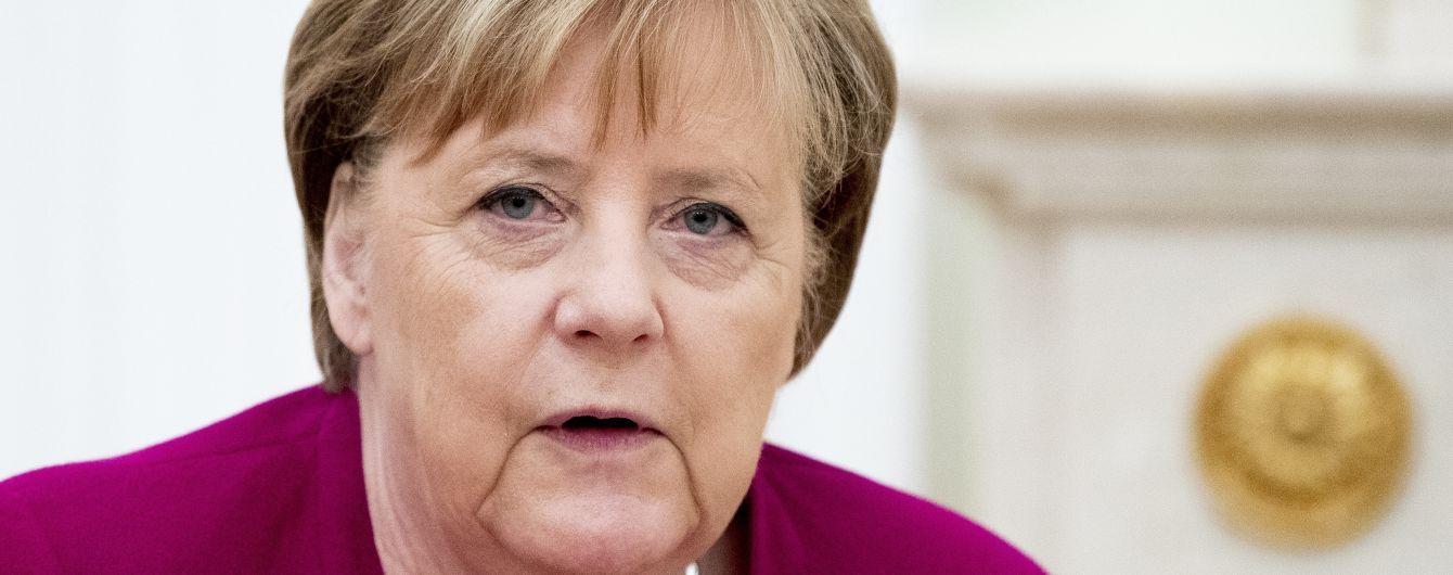 """Меркель заявила, що """"Північний потік-2"""" потрібно добудувати"""