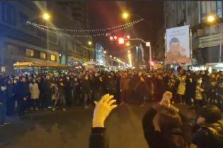 В Тегеране начались протесты из-за сбития Ираном украинского Boeing